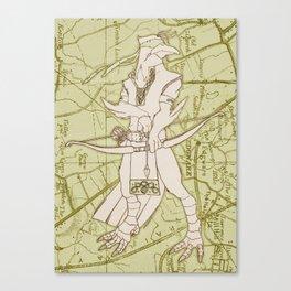 Ivar Odin Canvas Print