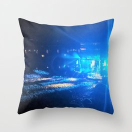 The Buzzing In My Ears Continues Throw Pillow