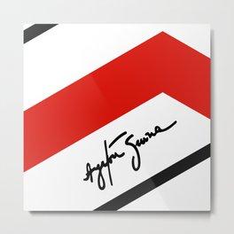Ayrton Senna Mclaren Honda Formula 1 Metal Print