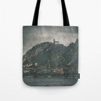 storm Tote Bags featuring Storm by Rafael Igualada