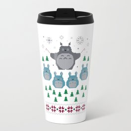 totorro christmas Travel Mug