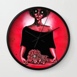 My love on a tray Wall Clock