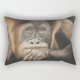 Person of the Forest Rectangular Pillow