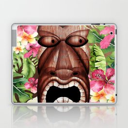 Tropical Hibiscus Tiki Laptop & iPad Skin