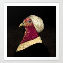 Funny Animal - Chicken Art Print