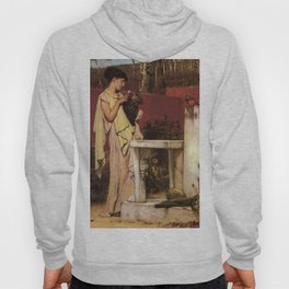 The Last Roses 1872 by Sir Lawrence Alma Tadema | Reproduction Hoody