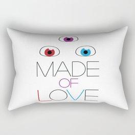 Made of love Rectangular Pillow