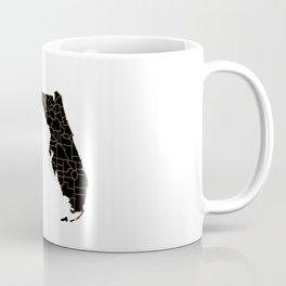 Florida map, USA Coffee Mug