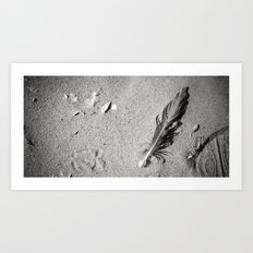 Left Behind Art Print