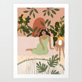 Life With Plants Art Print