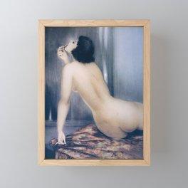 Louis Icart - Hunting - model 2 - Digital Remastered Edition Framed Mini Art Print