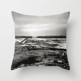 Cramond, Scotland Throw Pillow