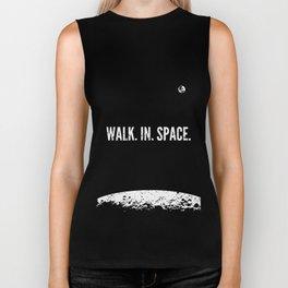 walk. in. space. Biker Tank