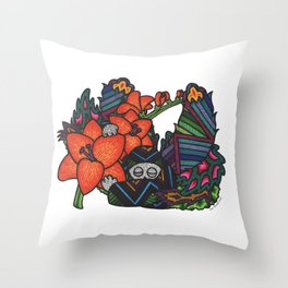 Freedom (Botanical Bliss) Throw Pillow