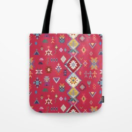 KILIM NO.1 IN DESERT MAGENTA Tote Bag