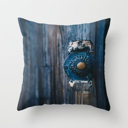 Come in my Friend Throw Pillow