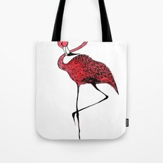 Mr. Flamingo Tote Bag