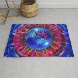 Abstract in perfection - Fertile Imagination Rose 2 Rug