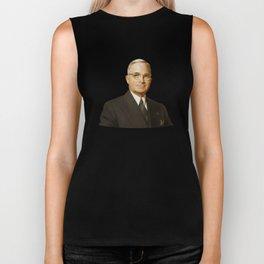 President Harry Truman Biker Tank
