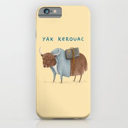 Yak Kerouac iPhone Case