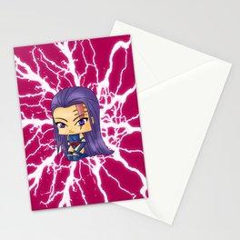 Chibi Psylocke Stationery Cards