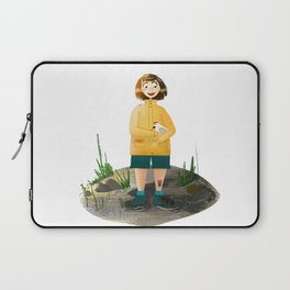 runaway chicken Laptop Sleeve