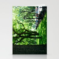 literary Stationery Cards featuring Literary Walk at Central Park, New York City   by Lissette