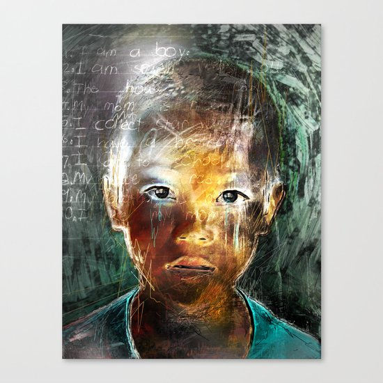A Boy Canvas Print