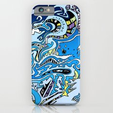 Swimming in the mind iPhone 6s Slim Case