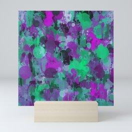Rhapsody of colors 4. Mini Art Print