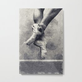 Dancing shoes Metal Print
