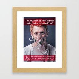 Oxygen 01 Framed Art Print