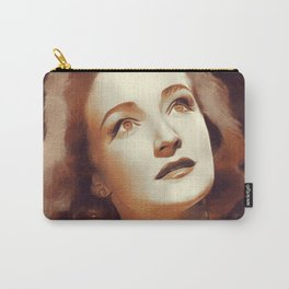 Nina Foch, Movie Legend Carry-All Pouch