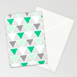 Directions - green Stationery Cards