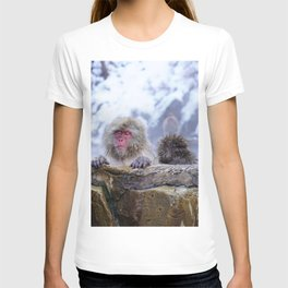 Jigokudani Monkey Park (Japan) T-shirt