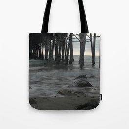Mystic Pier Tote Bag
