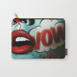 Comic Face Carry-All Pouch