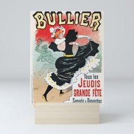 Bullier French dance hall days Mini Art Print