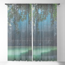 Lagoon Sheer Curtain