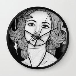 Amsterdam Girl Wall Clock