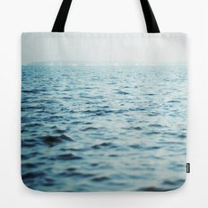 The Blue Channel Tote Bag