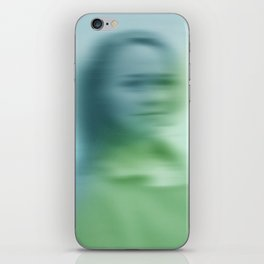 Blurry face iPhone Skin