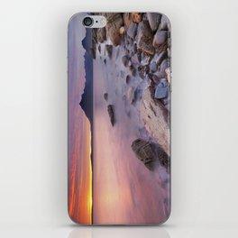 II - Spectacular sunset at the Elgol beach, Isle of Skye, Scotland iPhone Skin