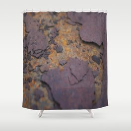 Rust on Rust rustic decor Shower Curtain