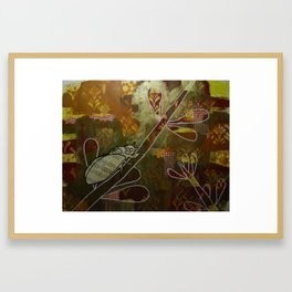 Cicada Music Framed Art Print