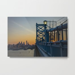 Philadelphia Skyline Metal Print