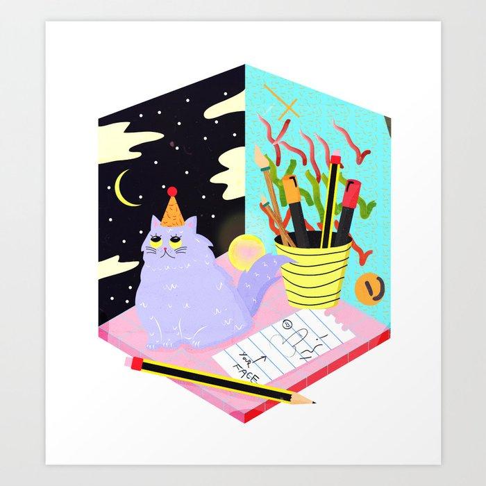 magik Art Print