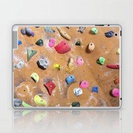 Wooden boulders climbing gym bouldering photography Laptop & iPad Skin