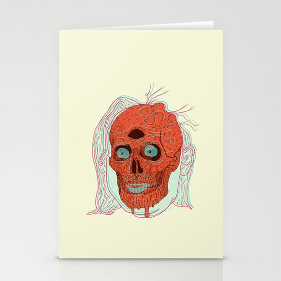 Anatomy of a Beetleman   Stationery Cards