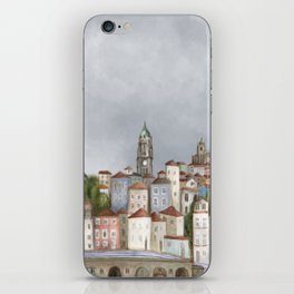 Porto landscape iPhone Skin
